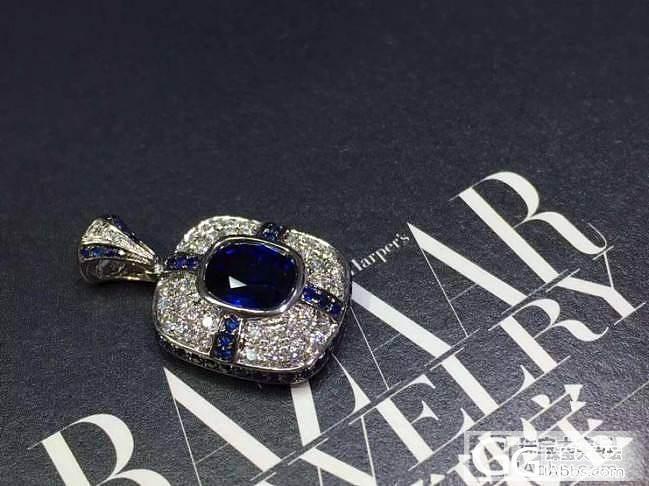 【客定欣赏】精美2克拉皇家蓝蓝宝石成..._泰勒珠宝