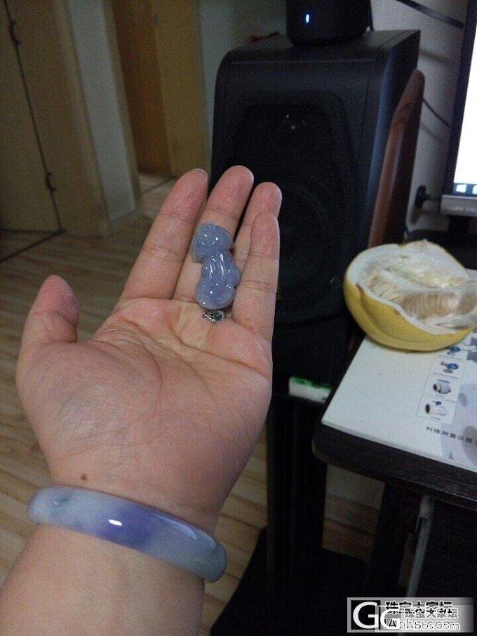 我是紫色大屁股柯基_翡翠