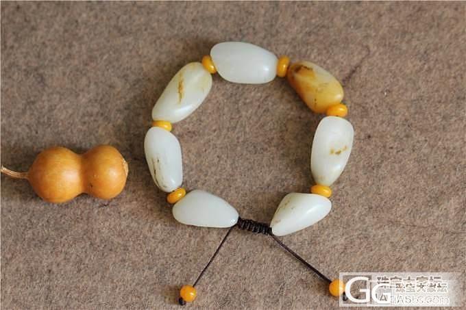 和田玉籽料原籽手链&和田玉籽料满皮马上有福_传统玉石
