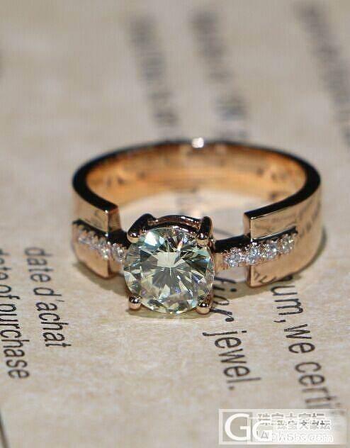 【瑞意邦珠宝】——克拉钻石这款很好看哦 参考参考呗_瑞意邦珠宝
