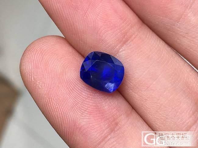 3.17ct缅甸无烧皇家蓝 大家点评..._刻面宝石蓝宝石