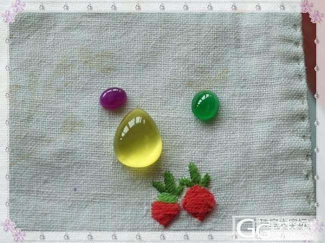 第一个翡翠蛋蛋,展会上刚刚收的,请教各位大神算什么色_翡翠