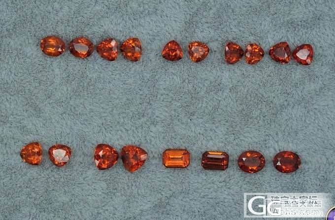 小石头  做什么好呢  看了又喜欢_石榴石刻面宝石
