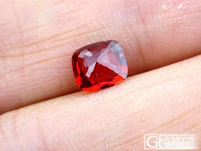 小小红尖晶_尖晶石刻面宝石