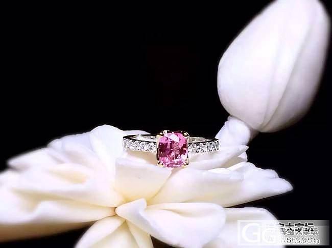 【RBG 定制欣赏】小小帕帕拉恰戒指,纤巧精致的美_上海皇家蓝彩宝