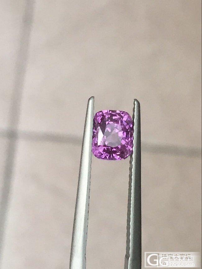 紫色蓝宝石,_蓝宝石刻面宝石
