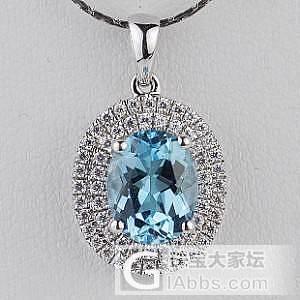 【傲蕾伊兰珠宝】非常干净的一颗海蓝宝石  2.2克拉_傲蕾伊兰珠宝