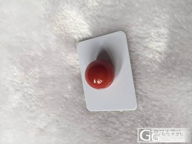 日本朋友寄过来的阿卡珠子 不算牛血的但是品质不错_珊瑚