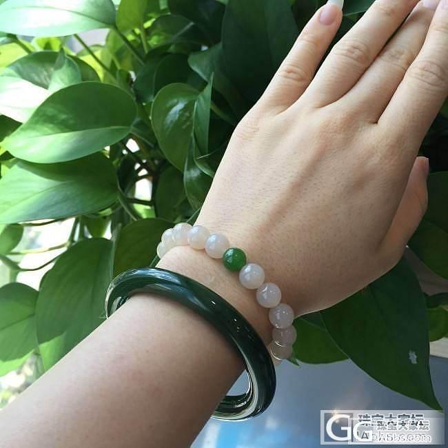 照片更新 碧玉 菠菜绿圆条53  阳绿苹果绿7-8珠子项链_传统玉石