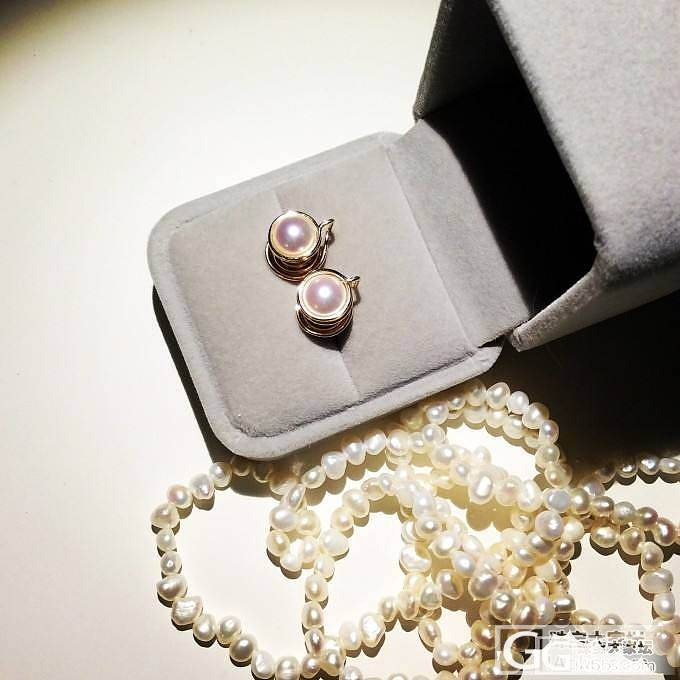 新人分享-刚入手的ayoka海水珍珠..._珍珠