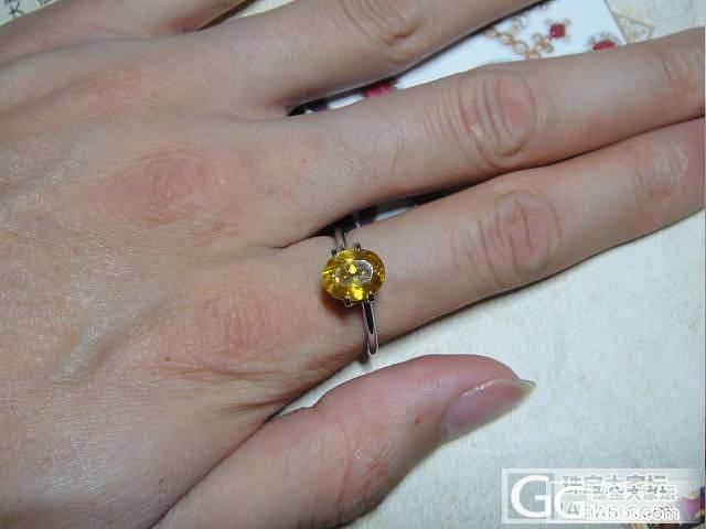 月光石猫眼,最廉价的猫眼宝石!+金色榍石一枚,闪闪的~~_宝石