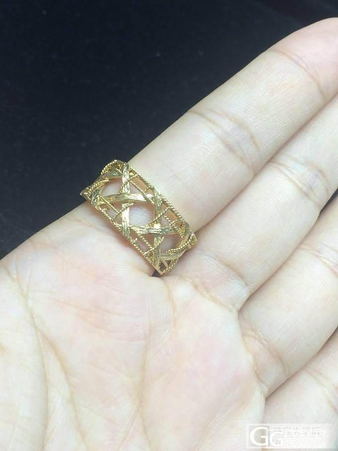 巨精致!重工艺,Dior纽纹戒指。见..._金