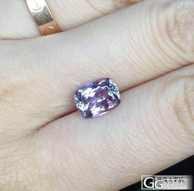 求教紫色坦桑问题_坦桑石刻面宝石
