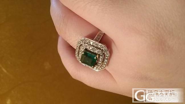 几年前入的祖母绿戒指,无油_戒指刻面宝石祖母绿