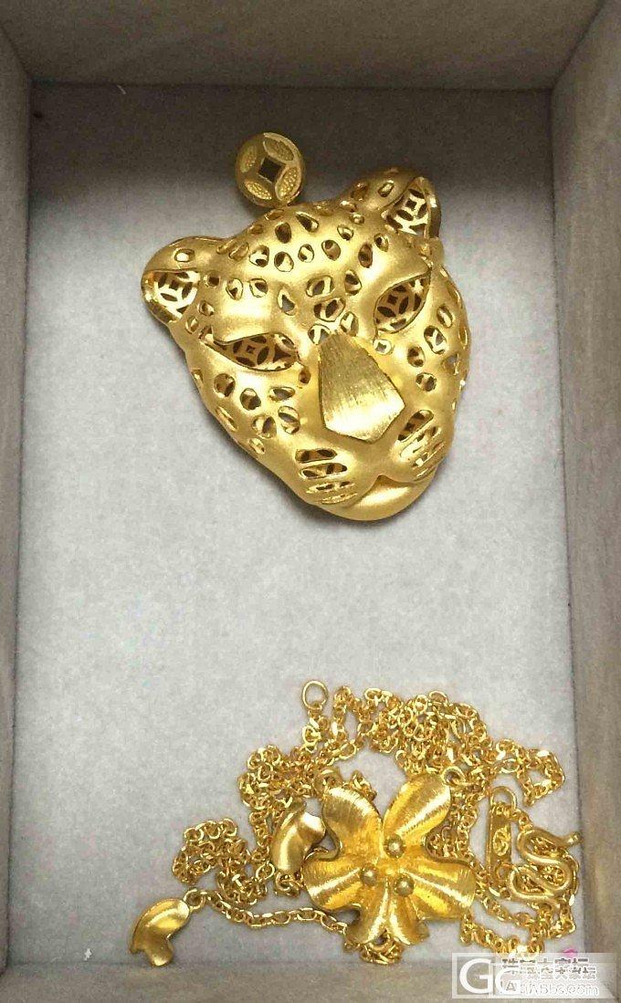 黄金首饰大集合,这次以吊坠和项链为主..._吊坠手镯项链戒指金