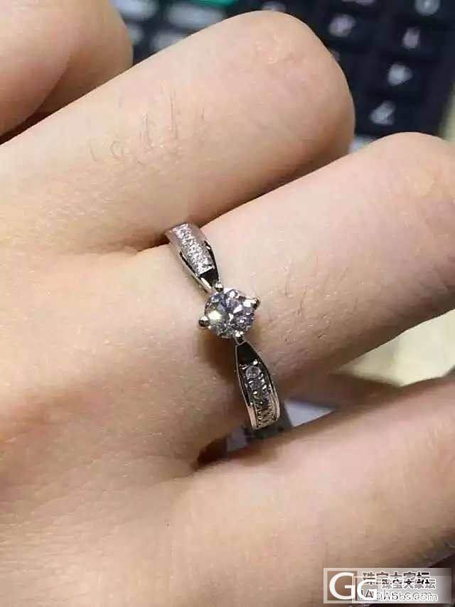 30分钻石戒指和红宝石手链一条,都是4500元_钻石