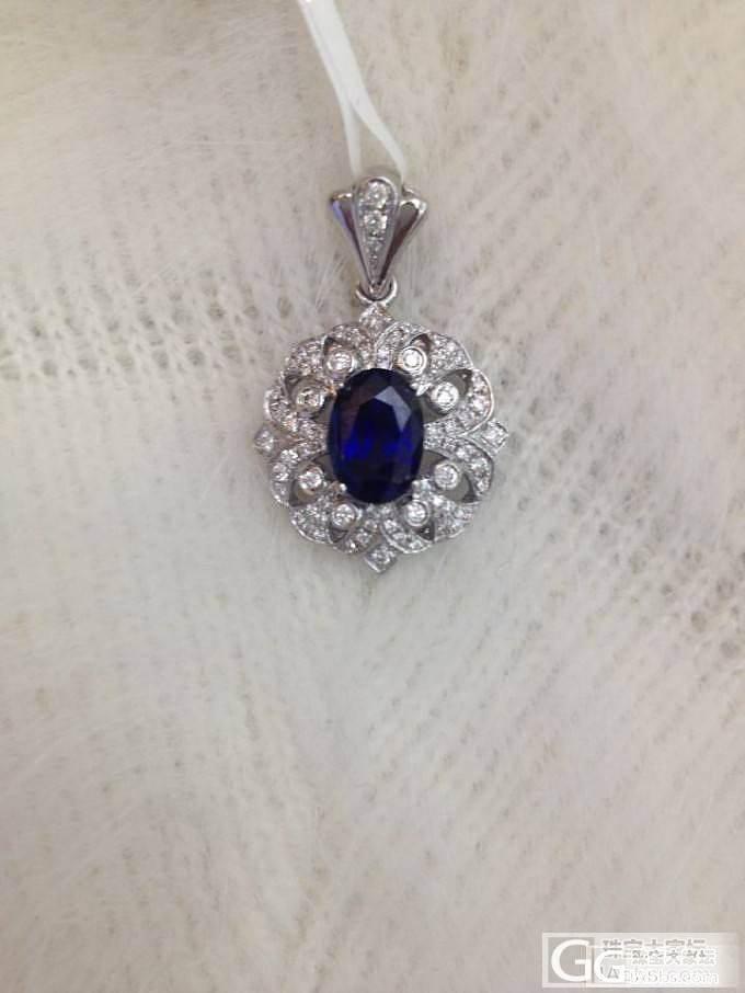 【锡兰之星】浓浓欧式宫廷风蓝宝石系列~_珠宝