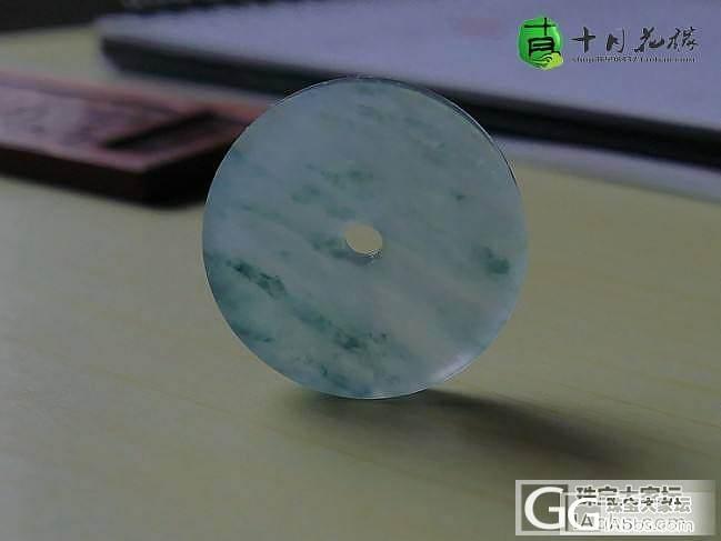 【十月】5.12新货-蓝花平安扣,售...