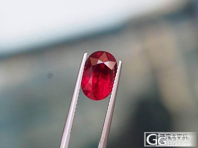 【红宝石】5.11克拉无烧莫桑比克鸽血红红宝石 收藏级_莫桑石皇家彩宝