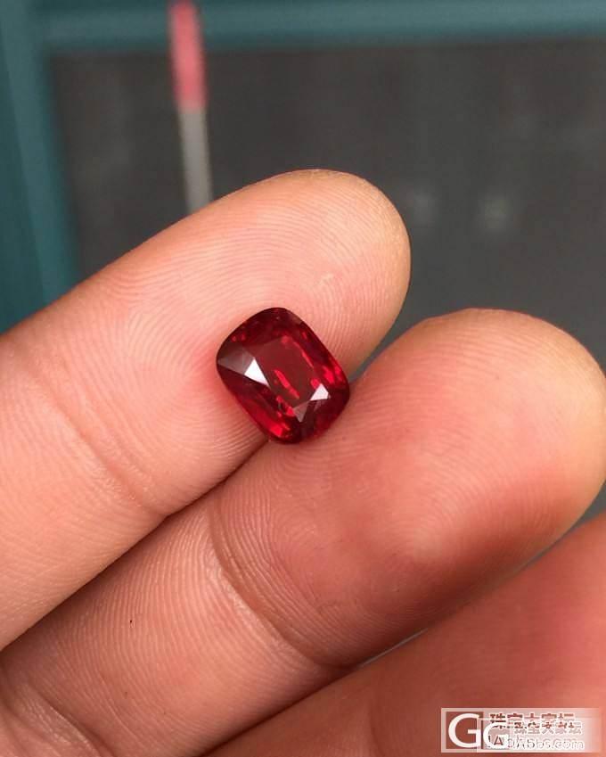 【红宝石】3.01克拉无烧鸽血红红宝石 莫桑比克 GRS证书_莫桑石皇家彩宝