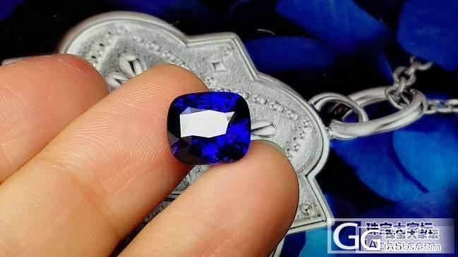 【蓝宝石】5.3克拉完美缅甸无烧皇家蓝,SSEF证书_上海皇家蓝彩宝