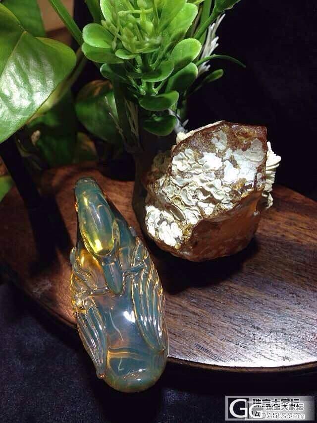 欣赏,非常细致精湛的雕刻件!_有机宝石