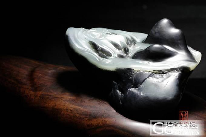 青花摆件——群鱼戏水,黑白分明……美!_珠宝