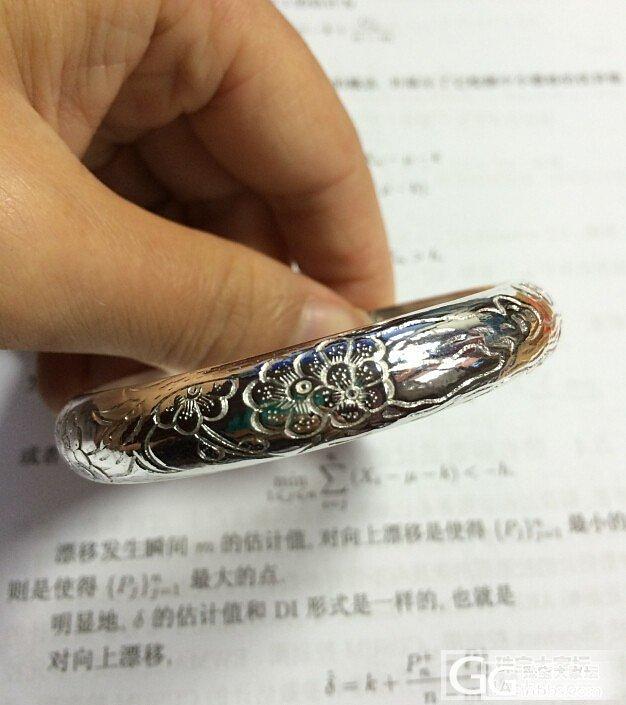 今年的第一个银镯_手镯银