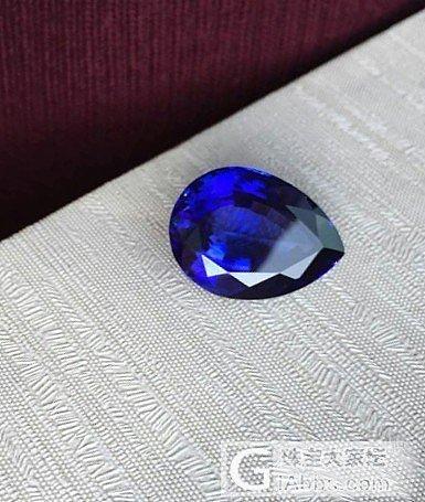 大克拉的坦桑石  大伙看看_坦桑石刻面宝石