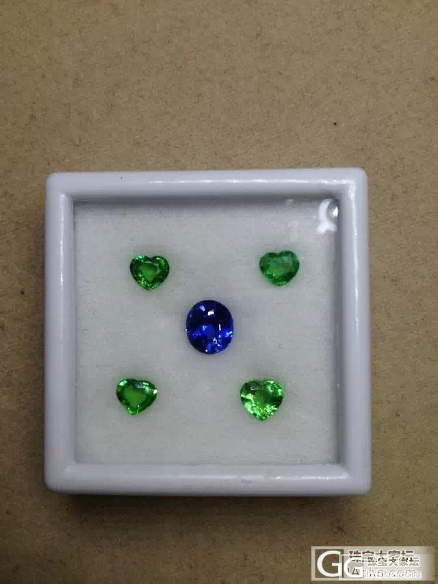 帮看看 有烧的蓝宝石 1.31卡  ..._蓝宝石