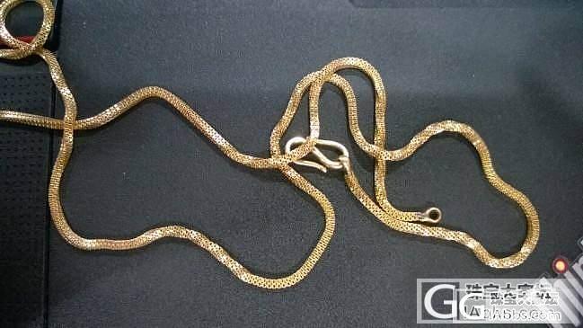 各位,这种链叫什么链子?_项链金
