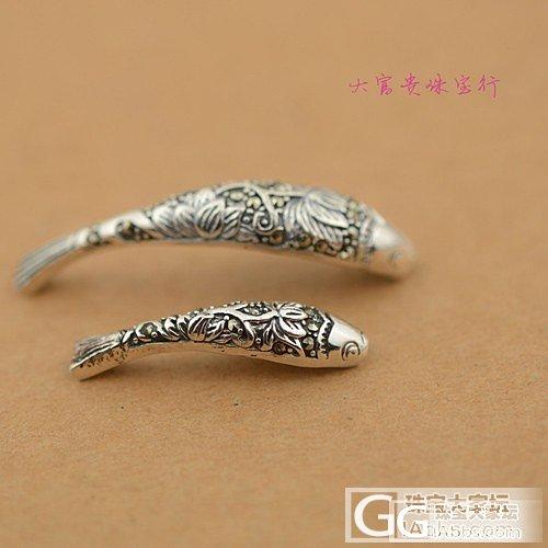 925泰银弯管鱼,经典款,共2个尺寸可选择_银