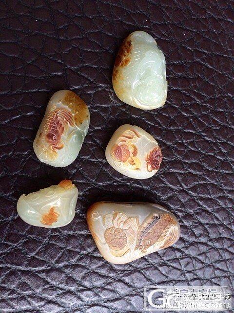 荷花控啊,各种喜欢原籽的,原颗籽玉的..._传统玉石