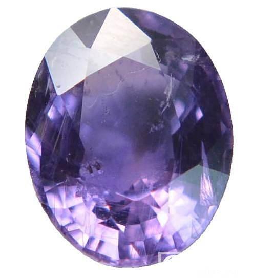 宝石每日赏之一 天然无烧紫色蓝宝石 及首饰成品效果图_工艺