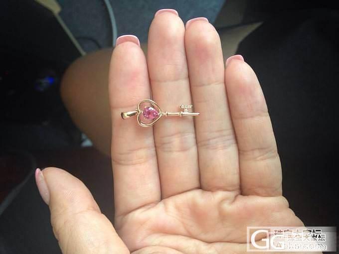 新出货的小钥匙,精致可爱_展会珠宝