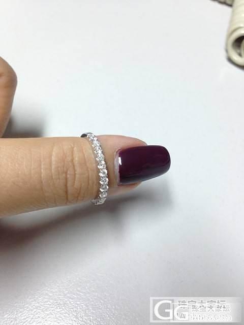 听说有奖励,所以还图我的排钻戒指_鑫艺首饰镶嵌