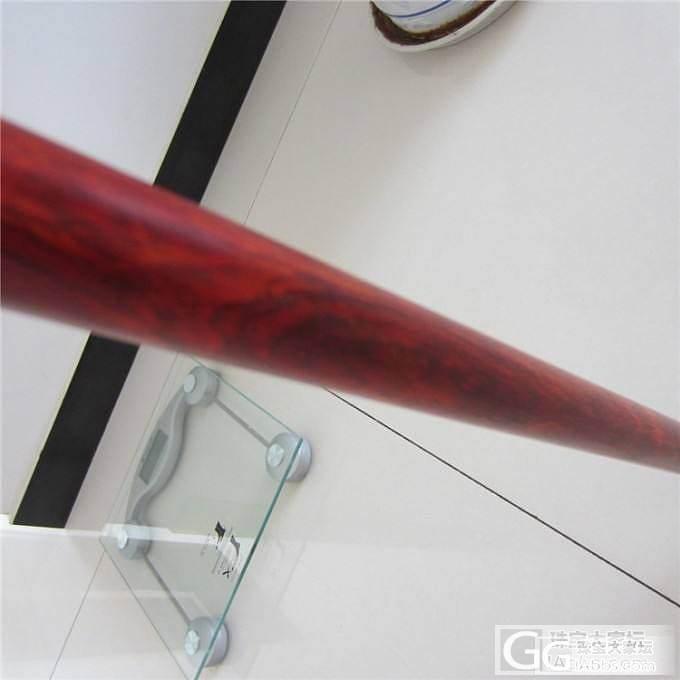 红酸枝拐杖 红木拐杖 实木拐杖 微凹..._文玩