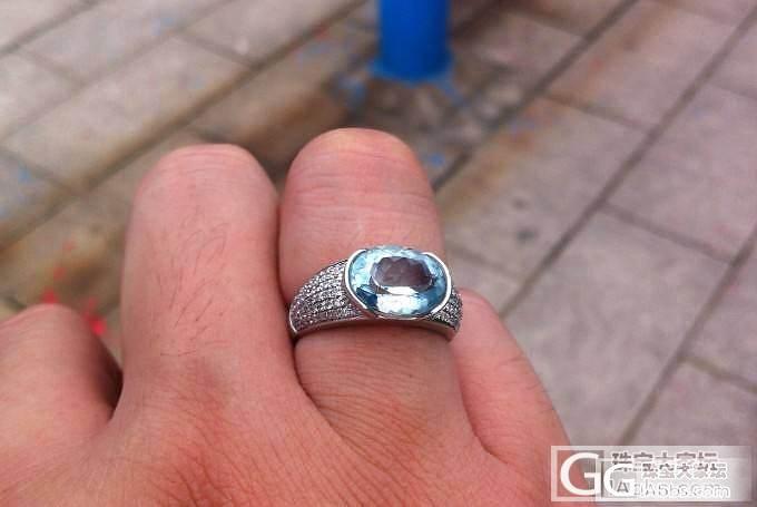 这款海蓝宝石戒指如何?有喜欢的吗?_海蓝宝刻面宝石