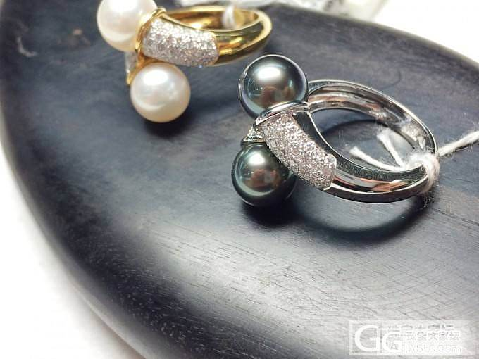 AKOYA和大溪地珍珠 钻石18K黄..._博物馆