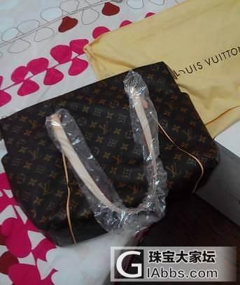 全新带包装正品LV老花totally女士中号 低价出_品质生活