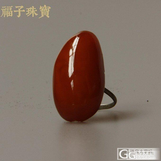 【福子珠宝】老蜜蜡戒指_珠宝