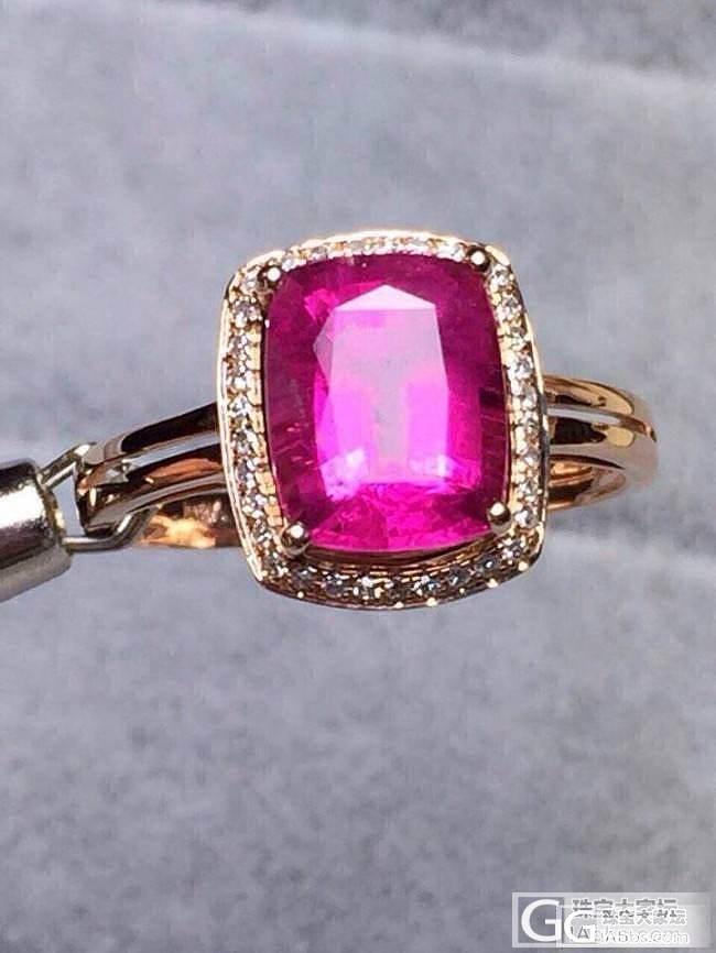 这个卢比来碧玺戒指4800,4克拉左..._珠宝