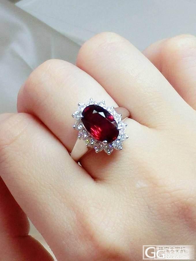 3.06ct无烧莫桑比克艳彩红_戒指红宝石
