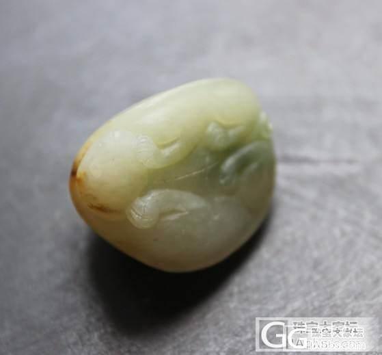和田玉籽料乌龟挂件_传统玉石