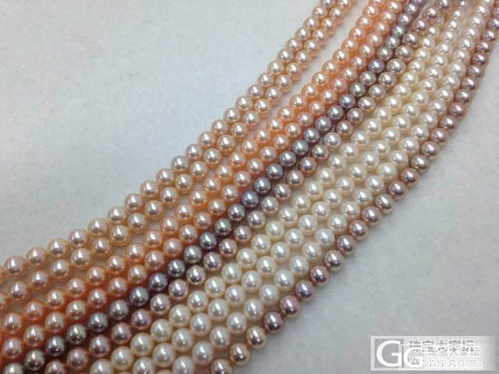 6MM的淡水珠以及一些胸针。。_珍珠