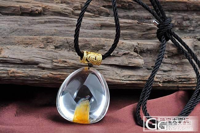 新年第一帖,黄橙橙的异形水晶,大爱,_水晶
