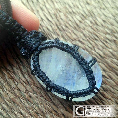 [7.11更新咯]细节图上咯~斯里兰卡带回的镯子+尼泊尔来的蜡线编织吊坠们_宝石
