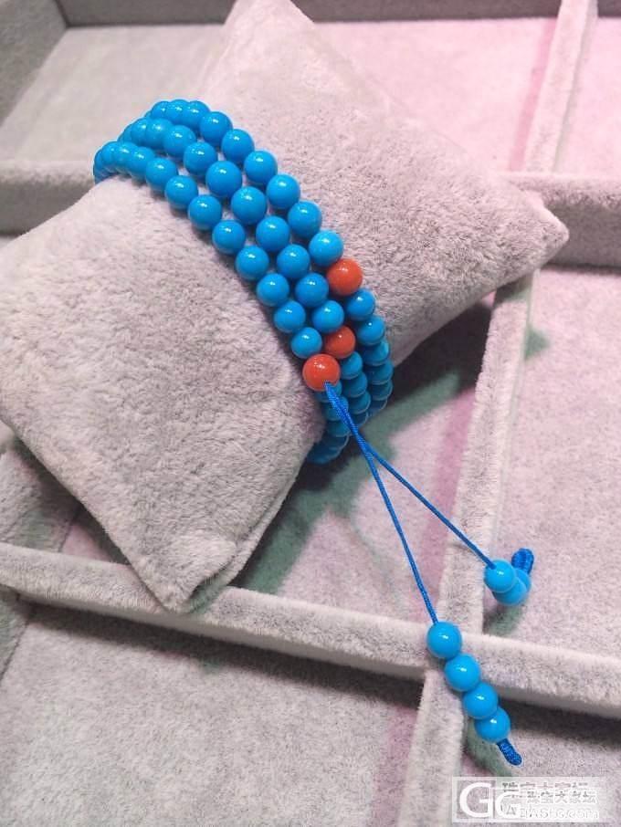 最近看好一款手链,大家觉得如何,我在努力攒米_松石