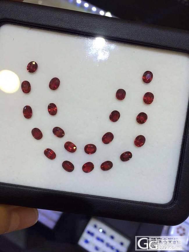 泰国直销小克拉无烧鸽血红宝石预售帖_宝石
