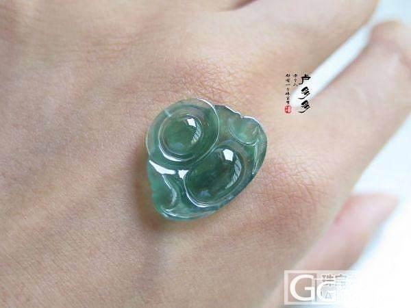 【珠宝级绿水】————1600元————【绿水小佛】_翡翠